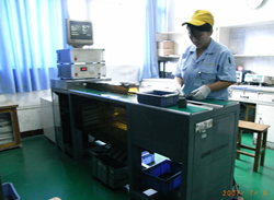 9) Final Quality Inspection: Inspect Characteristics (Capacitance, Leakage Current & Dissipation Factor)